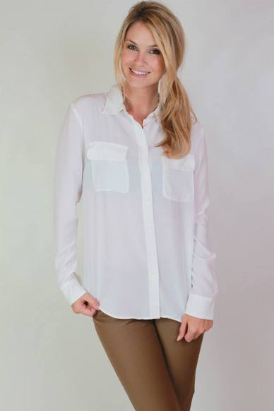 Willah - Silk Shirt - Coconut - To The Max