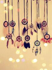 jewels,dreamcatcher,necklace,dream,boho jewelry,catcher,feathers,dreamcatcher necklace,these dream catchers,underwear,home accessory,wall hanging,boho