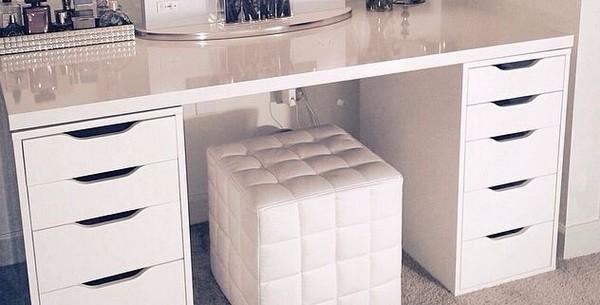 Linnmon Alex Table White Ikea