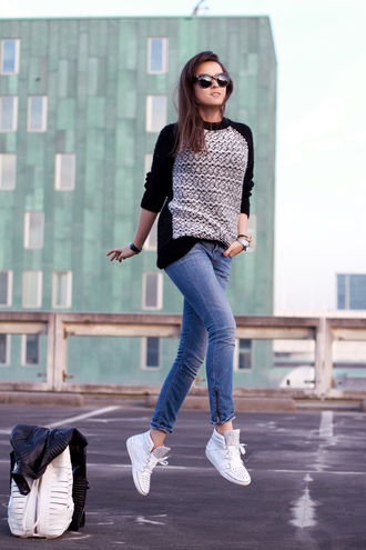 style scrapbook sweater shoes jeans bag jewels