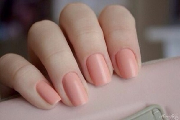 Nail polish: skin, orange, nails, natural colours - Wheretoget