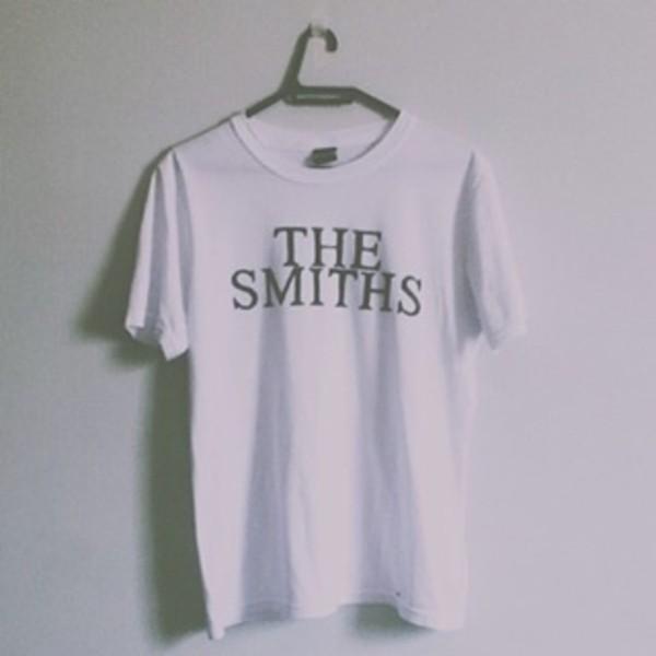 shirt the smiths white t-shirt