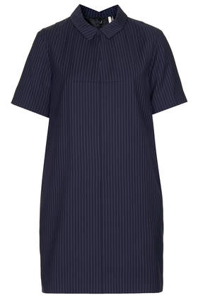 Modern Tailoring Pinstripe Dress - New In This Week  - New In  - Topshop