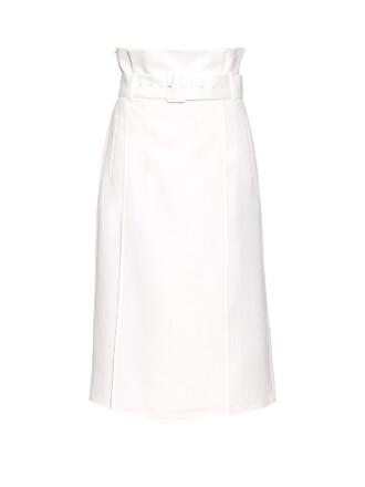 skirt midi skirt midi white