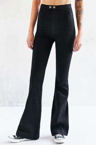 jeans denim flared jeans pants