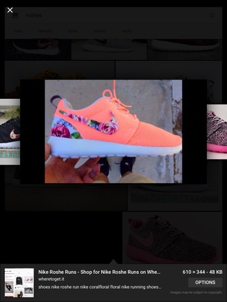 shoes roshes roses