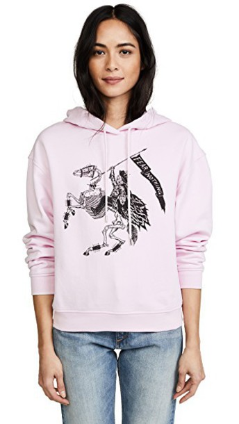 McQ - Alexander McQueen hoodie classic pink sweater