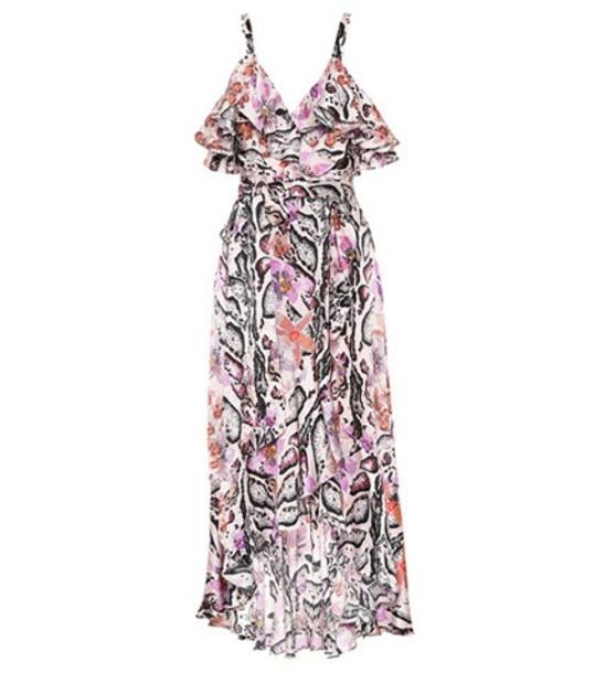 Temperley London Printed silk dress