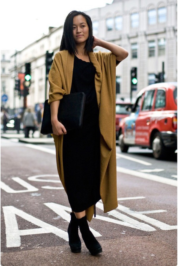 Sara Split Side Duster Coat