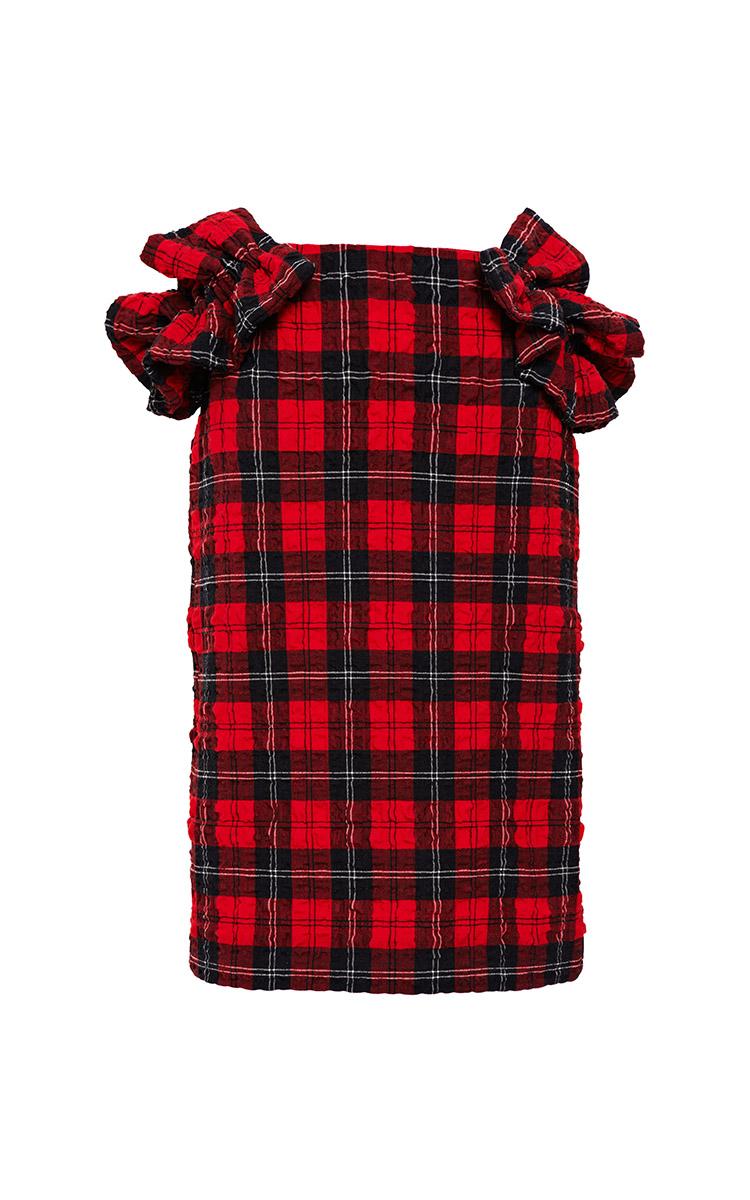 Ruffled Tartan-Plaid Skirt by Simone Rocha - Moda Operandi