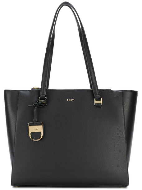 DKNY - Sutton shopper tote - women - Leather - One Size, Black, Leather