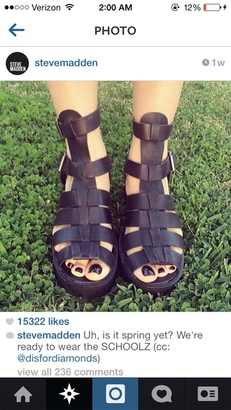 shoes flat sandals gladiators