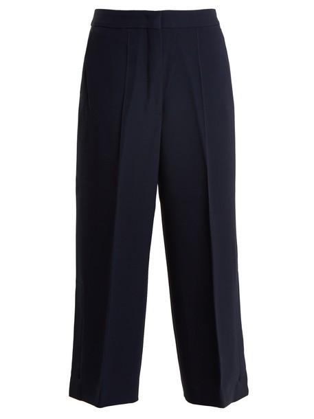 Sportmax navy pants