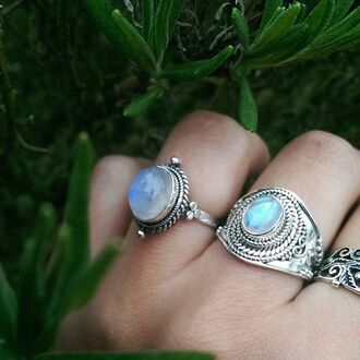 jewels shop dixi sterling silver ring jewelry boho bohemian grunge goth hippie