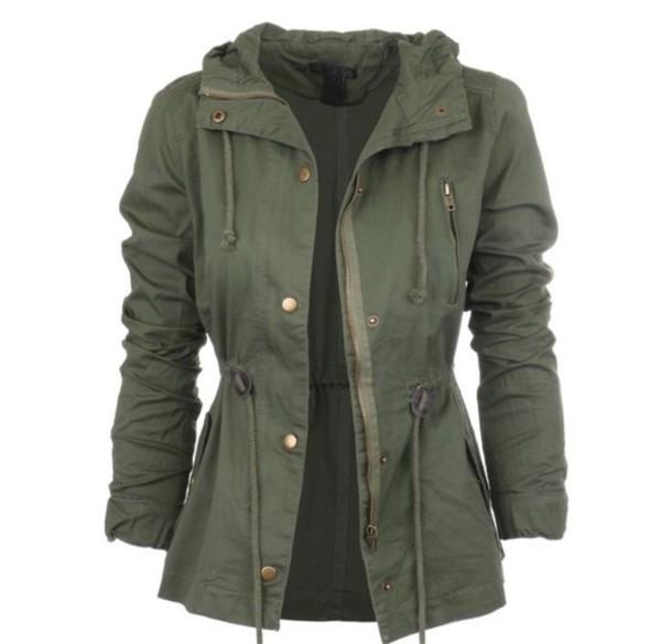 jacket green coat green jacket army green jacket coat parka sweater ralph lauren green