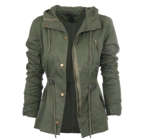 jacket green coat green jacket army green jacket coat parka