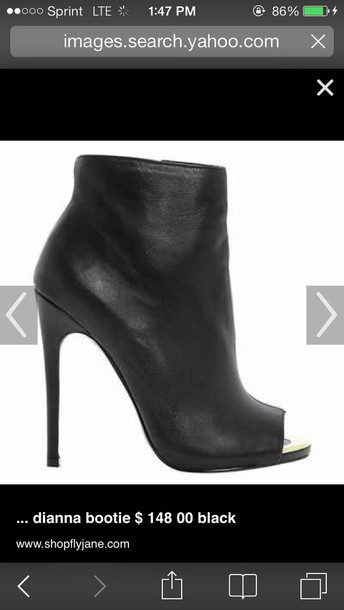 shoes dunn london peep toe booties