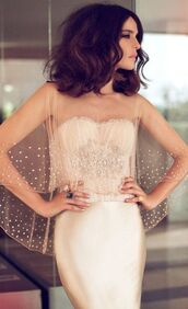 dress,wedding dress,wedding,bustier dress,bustier wedding dress,prom dress,long prom dress,cream dress,corset,long dress,strapless dress,sheer top,embroidered,couples rings