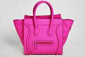 bag,celine,shop,designer,tote bag,handle,satchel,luggage,pink celine