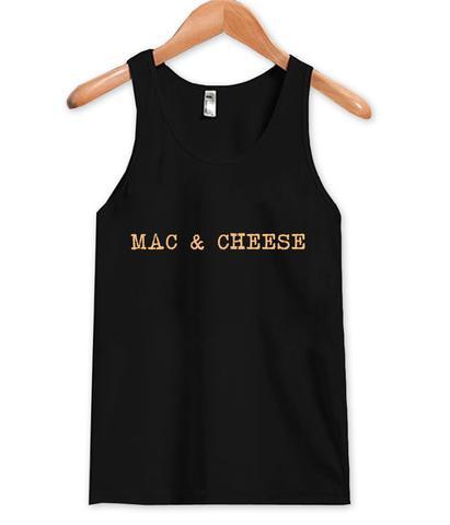 mac and cheese tanktop