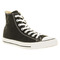 Converse all star hi black canvas shoes - converse trainers - office shoes