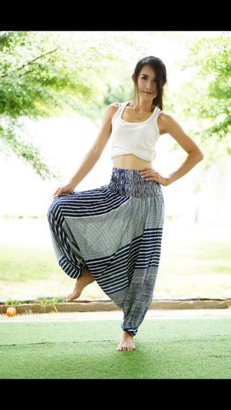 pants harem elephant pants harem pants hipster hippie boho boho chic jumpsuit yoga pants beach pants beach