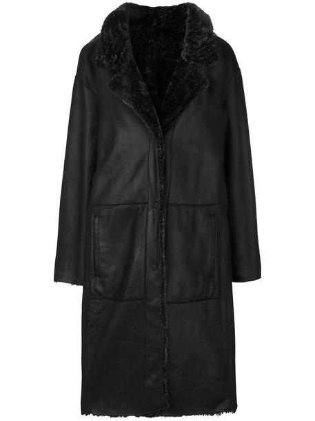 DROME coat women black