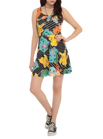 dress pokemon pikachu charmander bulbasaur squirtle