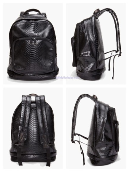 python bag bag woman backpack leather backpack marc by marc jacobs marc jacobs black bags woman black bags men's bag open back