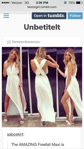 dress white dress cute dress prom dress beach saboskirt homecoming dress prom greek goddess flowy bohemian dress