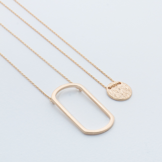 Dainty Duo Necklace (More Colours Available)