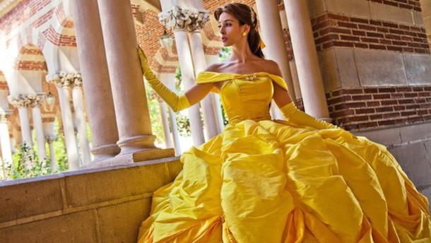 Yellow disney dress