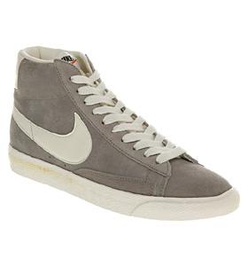 uk availability 71111 f038e Nike BLAZER HI SUEDE VNTAGE MED GREY SAIL Shoes - Nike ...