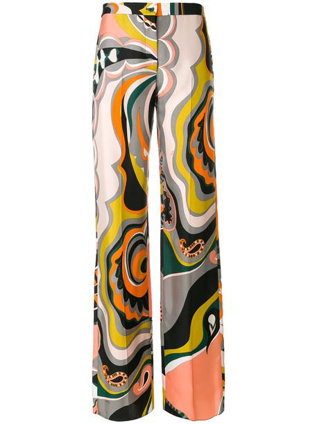 Emilio Pucci women silk pants