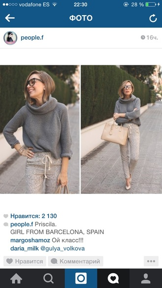 sweater 2015 fashion grey sweater awesome! trendy