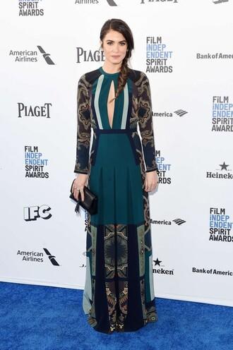 gown nikki reed keyhole dress maxi dress
