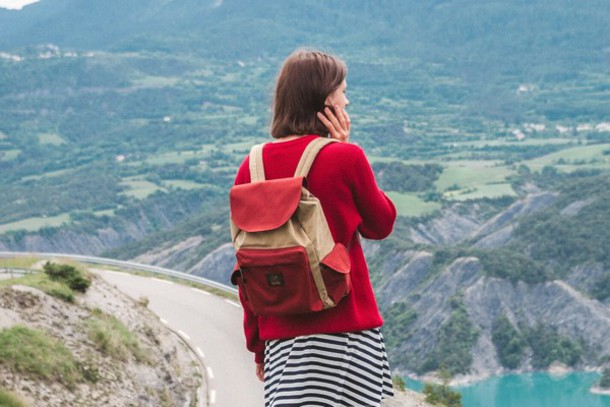 bag backpack travel brown style trendy women accessories