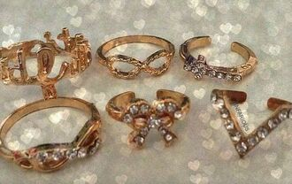 jewels ring knuckle ring infinity knuckle ring engagement ring silver ring jewelry boho jewelry rings and tings gold ring set
