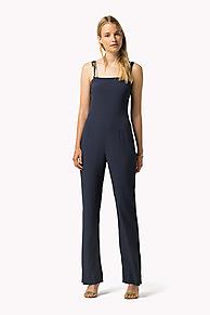 Viscose Jumpsuit Gigi Hadid | Blue | Tommy Hilfiger® | 8719253264405