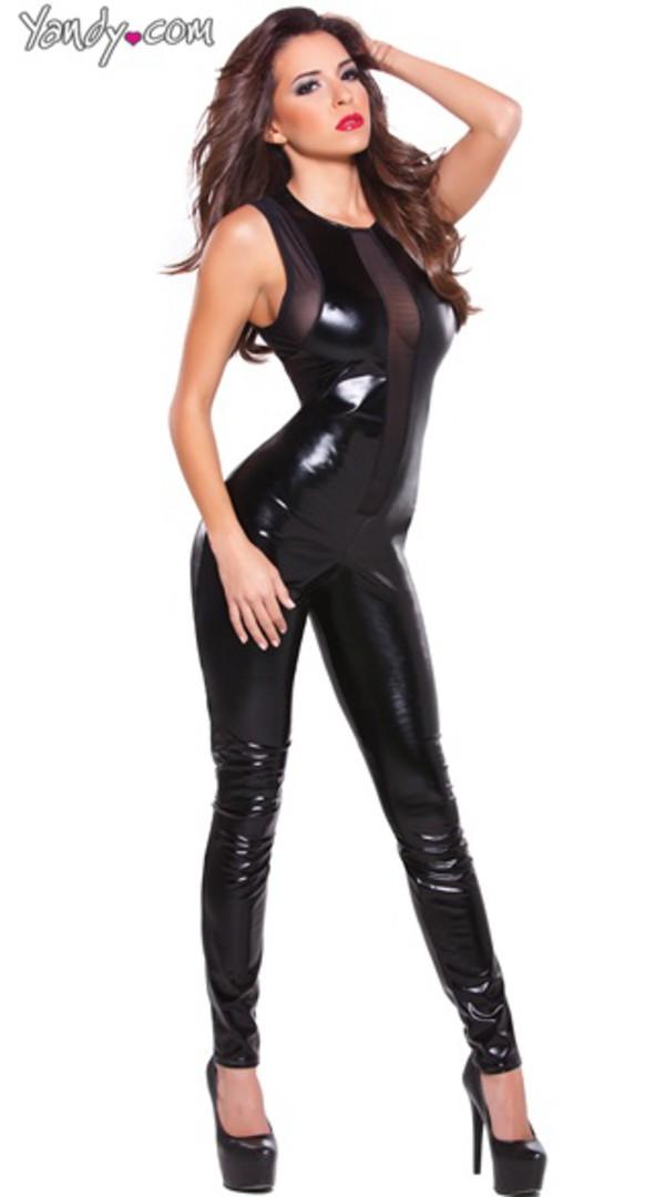 jumpsuit catsuit black
