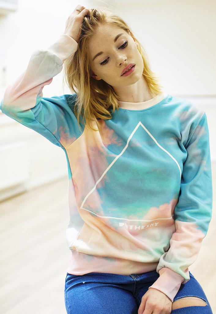 Pastel sky sweater