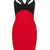 Red & Black Backless Bandage Dress – Starr Boutique