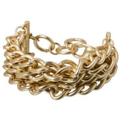 Multi Chain link Bracelet - Gold : Target