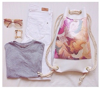 bag fashion outfit tumblr outfit