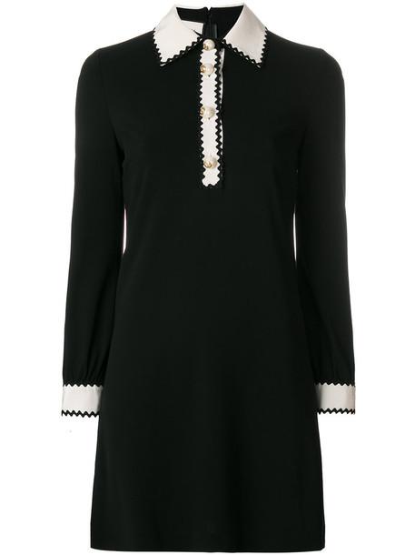 gucci dress women black