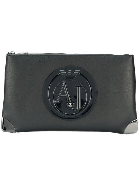 ARMANI JEANS zip women clutch bag