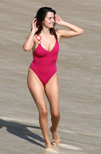 swimwear one piece swimsuit penelope cruz