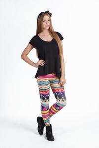 leggings clothes fashion printed leggings girl print streetstyle fusion sweatshirts fusion clothing fusion