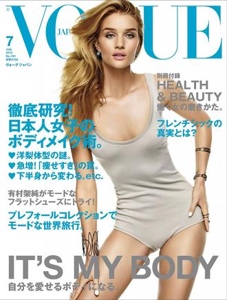 top bodysuit rosie huntington-whiteley editorial