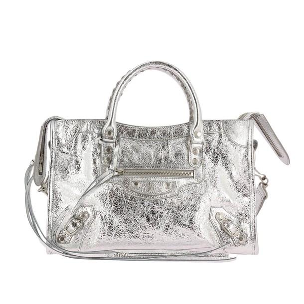 women bag shoulder bag silver